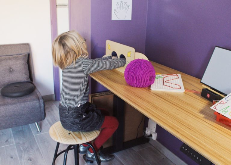 Photo du cabinet de graphothérapie à Annecy de Claire Bechetoille - Claire de Plume